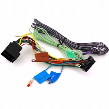 Kenwood DNX 5380BT DNX-5380BT DNX 5380BT Power Wiring Harness Lead ISO